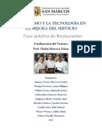 El Turismo y La Tecnología - Restaurantes