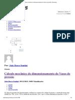 Cálculo Mecânico de Dimensionamento de Vasos de Pressão _ Petroblog