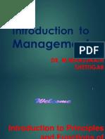 Management Basics - Class