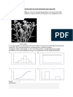 Environmentinfluence on Gene Expression and Variation