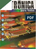 Eletrônica Para Todos Vol 25