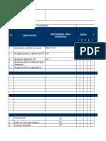 Anexo 15. Cronograma y Matriz de Capacitación - Noviembre 2017