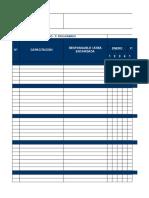 Anexo 15. Cronograma y Matriz de Capacitación - Febrero 2016