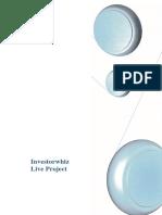 Investorwhiz Live Project