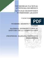Ulises Moreno Vallejo Concurrencia