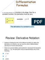 L3 - Differentiation Rules