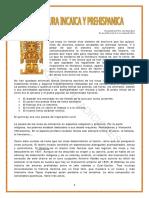 Literatura Incaica y Prehispanica