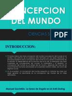 Tema 1 - Concepcion Del Mundo