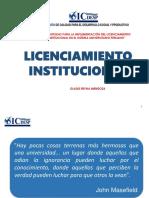 Licenciamiento institucional