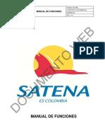 Manual de Funciones Satena