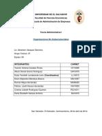 Organizaciones No Gubernamentales
