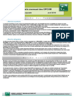 Bulletin Mensuel OPCVM Instit. Corp. 29042016