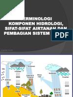 2. Terminologi Komponen Hidrologi, Sifat-sifat Airtanah Dan Pembagian Sistem Akifer_rusli Har