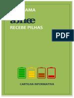 Cartilha Programa ABINEE Recebe Pilhas