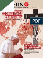 DOMINGO DE ORACIÓN POR LOS CRISTIANOS PERSEGUIDOS