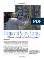 Poetry for Social Studies