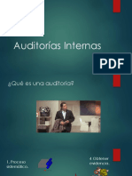 Taller Auditorías Internas