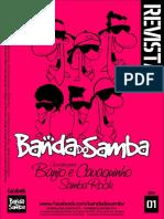 Revista Banda Do Samba - Edição 01