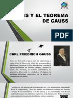 Gauss y el teorema de gauss