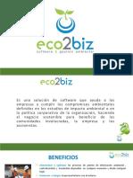 ECO2BIZ - Presentacion 2017