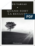 Quand Sort La Recluse - Vargas, Fred