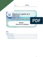 Mat. Webquest- Servicios de Internet