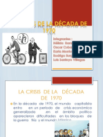 La Crisis de La Década de 1970