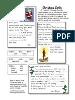 Christmas Card Clo Ze