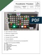 083-10 Ajuste Da Parada Orientada e Ponto de Troca Da Linha D V3 Siemens 828 (Cliente