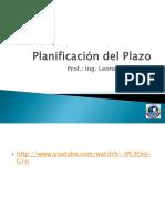 Planificación Del Plazo