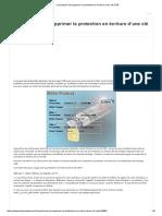 Cinq Façons de Supprimer La Protection en Écriture d'Une Clé USB