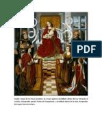 Cuadro Virgen de Los Reyes Católicos en El Que Aparece Arrodillado Detrás Del Rey Fernando El Católico