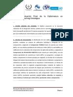 Evaluacion y Trabajo de Investigacion Final