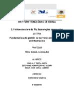 2.1 Infraestructura de TI y Tecnologías Emergentes