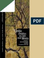 cambio climatico-una vision desde mexico