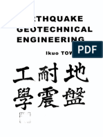 Earthquake Geotechnical Engineering by Towhata
