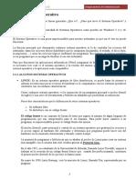 Tema 2. Primera Parte Sistemas Operativos