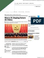Marca Xi Jinping Futuro de China