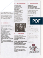 Cancionero Capilla San Roque