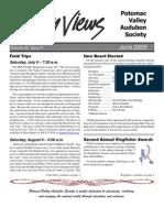 June 2005 Valley Views Newsletter Potomac Valley Audubon Society