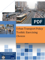 Urban Transport Policy Toolkit Final G20 -Edited