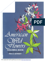 [] American Wild Flowers Coloring Book(BookFi)