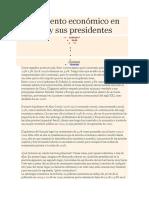 Crecimiento Económico en El Perú y Sus Presidentes