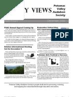 December 2006 Valley Views Newsletter Potomac Valley Audubon Society
