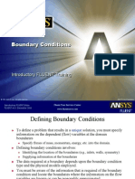 L-3 Boundary Conditions