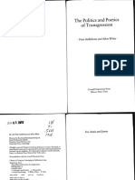 Politics and Poetics of Transgression by Peter Stallybrass Allon White