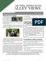 June 2007 Valley Views Newsletter Potomac Valley Audubon Society