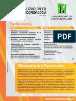 Especialización en Neuropsicopedagogía