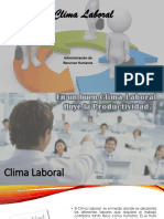 Motivacic3b3n y Clima Laboral