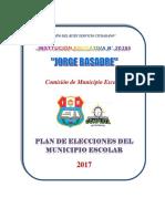 Plan de Elecciones 2017